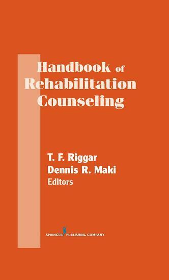 Handbook of Rehabilitation Counseling PDF