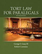 Tort Law for Paralegals: Edition 2