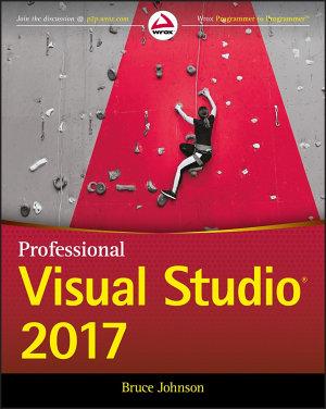 Professional Visual Studio 2017 PDF