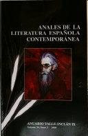 Anales de la Literatura Española Contemporánea