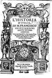 L'Historia d'Italia: Volume 1