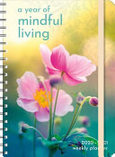 2020-2021 a Year of Mindful Living Planner