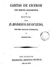 Cartas de Ciceron con breves argumentos y notas