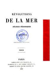 Révolutions de la mer: déluges périodiques, Volume1