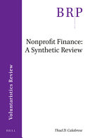 Nonprofit Finance PDF