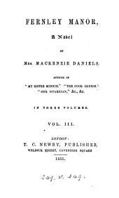 Fernley manor, by mrs. Mackenzie Daniels