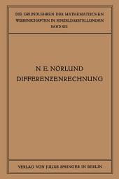 Vorlesungen über Differenzenrechnung