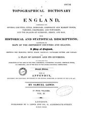 A Topographical Dictionary of England: With Historical and Statistical Descriptions