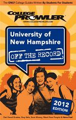 University of New Hampshire 2012