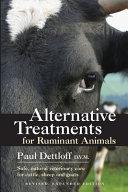 Alternative Treatments for Ruminant Animals