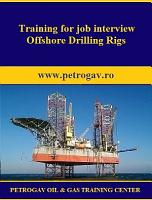 Training for job interview Offshore Drilling Rigs PDF