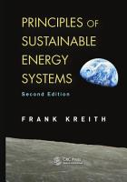 Principles of Sustainable Energy Systems  Second Edition PDF