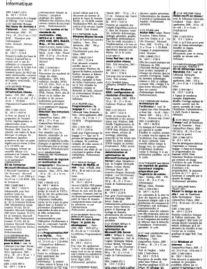 LIVRES HEBDO  LIVRES DU MOIS 1 JANVIER 2001 PDF