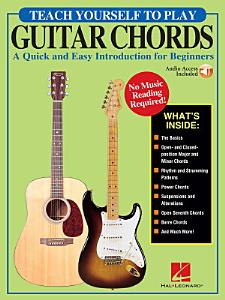 Teach Yourself to Play Guitar Chords Book