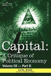 Capital: A Critique of Political Economy - The Process of Capitalist Production as a Whole, Volume 2