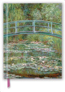 Claude Monet   Bridge Over a Pond for Water Lilies Blank Sketch Book PDF