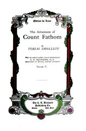 The Adventures of Count Fathom