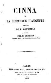 Cinna, ou La clémence d'Auguste: tragédie
