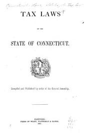 Tax Laws of the State of Connecticut