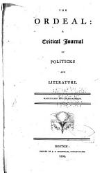 The Ordeal Book PDF