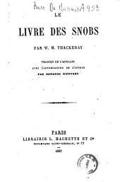 Le livre des snobs par W. M. Thackeray