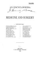An Encyclopaedia of Medicine and Surgery PDF