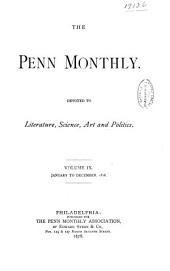 The Penn Monthly: Volume 9