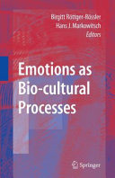 Emotions as Bio cultural Processes PDF