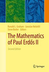 The Mathematics of Paul Erdős II: Edition 2