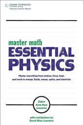 Master Math Essential Physics, 1st ed.