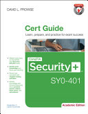 CompTIA Security+ SY0-401 Cert Guide, Academic Edition