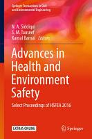 Advances in Health and Environment Safety PDF