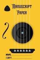 Standard Wirebound Manuscript Paper Yellow Cover