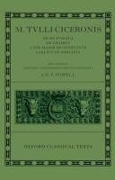 M  Tulli Ciceronis De Re Publica  De Legibus  Cato Maior de Senectute  Laelius de Amicitia PDF