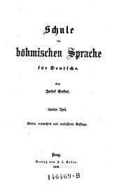 Schula der Bohmischen Sprache fur Deutsche