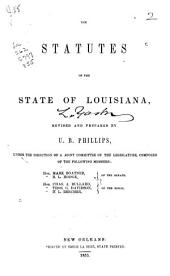 The Statutes of the State of Louisiana