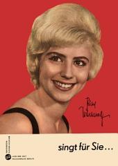 Bärbel Wachholz sing für Sie acht ihrer bekanntesten und beliebten Titel: Für Akkordeon und Klavier