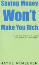 Saving Money Won t Make You Rich PDF