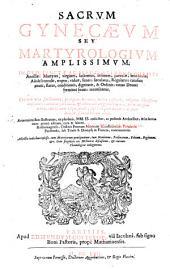 Arturi a Monasterio Sacrum gynecaeum seu martyrologium amplissimum SS. ac BB. mulierum