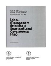 State and local government special studies: Issue 102