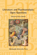 Literature and Psychoanalysis  Open Questions PDF