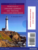 Principles of Language Learning and Teaching (Etext)