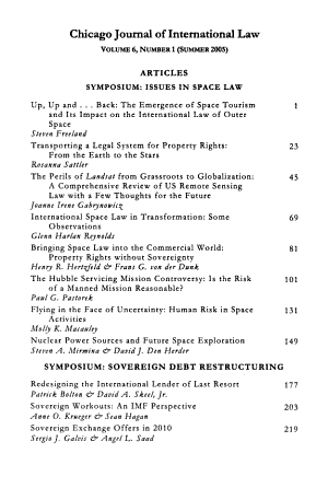 Chicago Journal of International Law