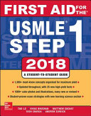 First Aid for the USMLE Step 1 2018  28th Edition Book
