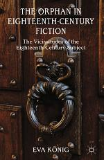 The Orphan in Eighteenth-Century Fiction