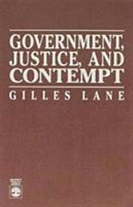 Government, Justice, and Contempt