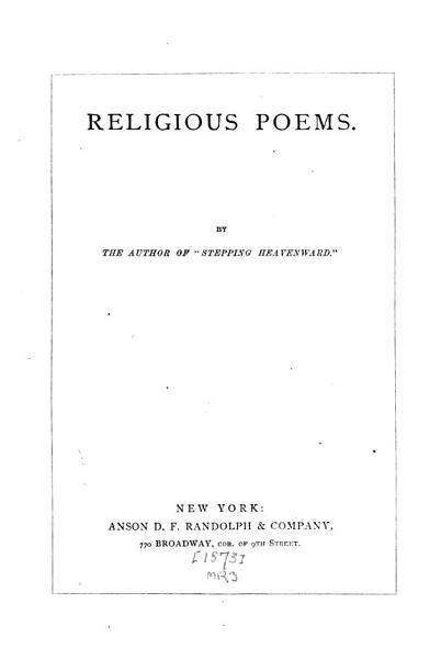 Religious Poems