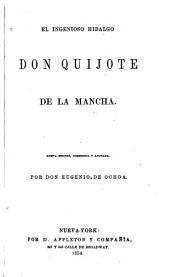 El ingenioso hidalgo Don Quijote de la Mancha: Página 1,Volumen 1