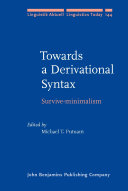 Towards a Derivational Syntax