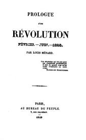 Prologue d'une révolution: février-juin 1848